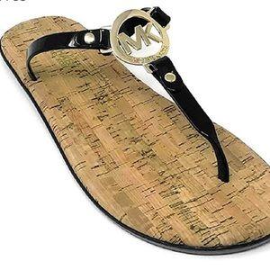 Michael Kors Cork/Jelly Sandals size 6